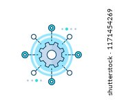 software testing automation... | Shutterstock .eps vector #1171454269