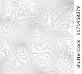 vector wave stripe background.... | Shutterstock .eps vector #1171458379