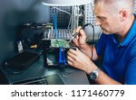 repair of electronic devices ... | Shutterstock . vector #1171460779