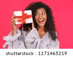 portrait of a happy young... | Shutterstock . vector #1171465219
