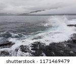 Storm Waves Of Atlantic Ocean...