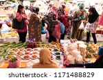 a fruits and fegetable shop at... | Shutterstock . vector #1171488829