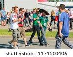 moscow  russia   june 16  2018. ...   Shutterstock . vector #1171500406