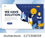 landing page template of we... | Shutterstock .eps vector #1171508539