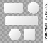 white blank button. round...
