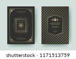 christmas greeting card design... | Shutterstock .eps vector #1171513759