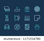 microfiber cloth properties...   Shutterstock .eps vector #1171516780