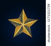 vector illustration of shiny... | Shutterstock .eps vector #1171521739