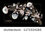 stock vector abstract hand draw ... | Shutterstock .eps vector #1171524283