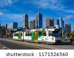 melbourne  vic   australia  ... | Shutterstock . vector #1171526560