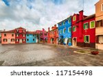 burano  venice  italy   Shutterstock . vector #117154498