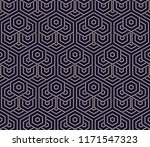 abstract geometric pattern with ... | Shutterstock . vector #1171547323