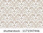 floral pattern. vintage... | Shutterstock . vector #1171547446