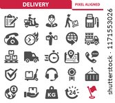Delivery Icons. Professional ...