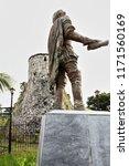 Statue Of Miguel Lopez De...
