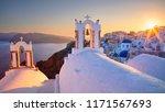oia  santorini. image of famous ...   Shutterstock . vector #1171567693