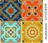 talavera pattern.  indian...   Shutterstock .eps vector #1171578199
