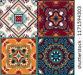 talavera pattern.  indian... | Shutterstock .eps vector #1171594303