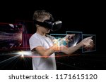 vr technology and wearable tech ... | Shutterstock . vector #1171615120