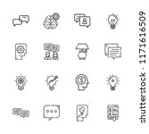 collection of 16 think outline...