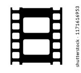 film reel vector icon isolated... | Shutterstock .eps vector #1171616953