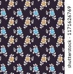 floral pattern in the small... | Shutterstock .eps vector #1171626769