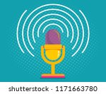 vintage vector illustration of... | Shutterstock .eps vector #1171663780