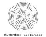abstract geometric vortex ... | Shutterstock .eps vector #1171671883