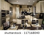 contemporary kitchen | Shutterstock . vector #117168040