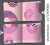3d abstract colorful shape....   Shutterstock . vector #1171709383