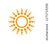 weather forecast icon  sun... | Shutterstock .eps vector #1171719250