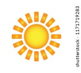 weather forecast icon  sun... | Shutterstock .eps vector #1171719283