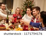 holidays and celebration... | Shutterstock . vector #1171754176
