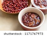 red bean soup | Shutterstock . vector #1171767973