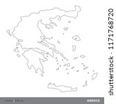 greece   outline europe country ...   Shutterstock .eps vector #1171768720