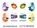 abstract patch brochure cover ... | Shutterstock .eps vector #1171785403