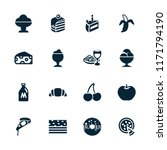 delicious icon. collection of...   Shutterstock .eps vector #1171794190