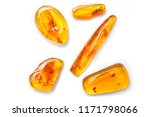 Amber. Many Pieces Of Amber...