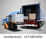modern concept of loading and... | Shutterstock . vector #1171801606