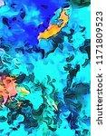 juicy colors abstract... | Shutterstock . vector #1171809523