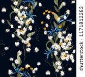 botanical motifs. isolated... | Shutterstock .eps vector #1171812283