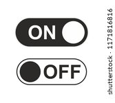 on and off icon toggle switch...