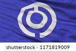 ishigaki city flag  country...   Shutterstock . vector #1171819009