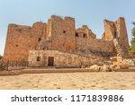 ajloun castle  12th century... | Shutterstock . vector #1171839886