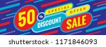 sale discount up to 50  off  ... | Shutterstock .eps vector #1171846093