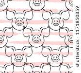 elegant seamless pattern with... | Shutterstock .eps vector #1171850359