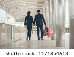 shopaholic and lifestyle... | Shutterstock . vector #1171854613