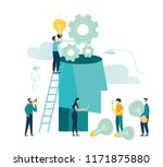 vector creative illustration of ... | Shutterstock .eps vector #1171875880