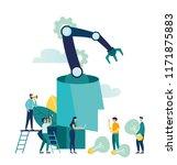 vector creative illustration of ... | Shutterstock .eps vector #1171875883