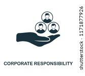 corporate responsibility icon....